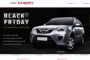 Chery terá ofertas na Black Friday (Foto: Reprodução)