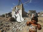 Banksy faz filme 'turístico' sobre miséria de Gaza