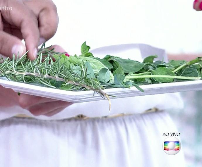 Conheça as ervas boas para o Réveillon (Foto: TV Globo)