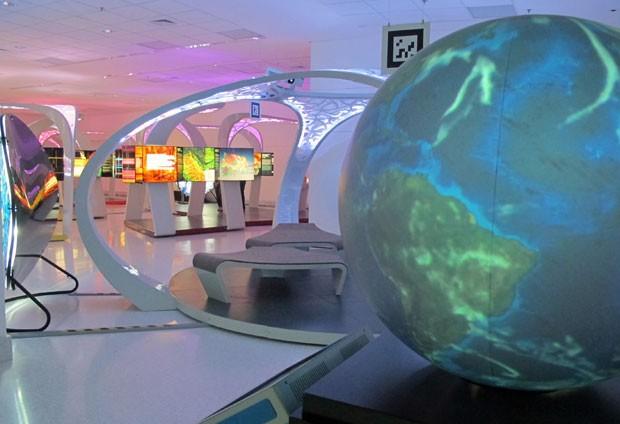 """Exposição interativa """"Túnel da Ciência Max Planck"""" será aberta ao público nesta quinta-feira (30) (Foto: G1)"""