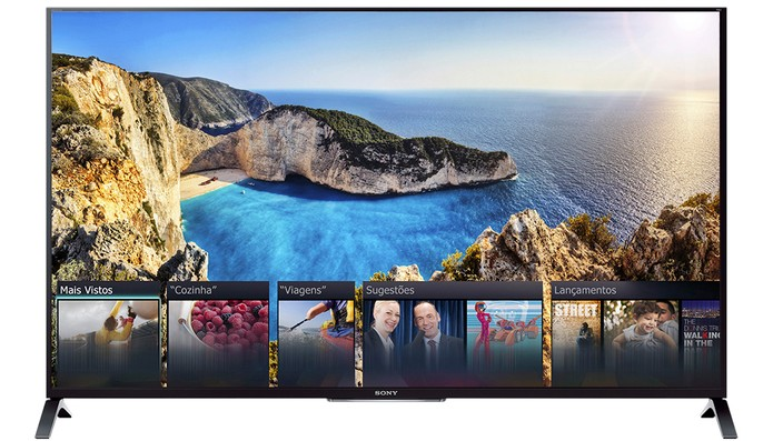 smart tv sony (Foto: Divulgação/Sony)