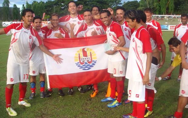 Taiti Oceania Copa das Confederações (Foto: Divulgação)