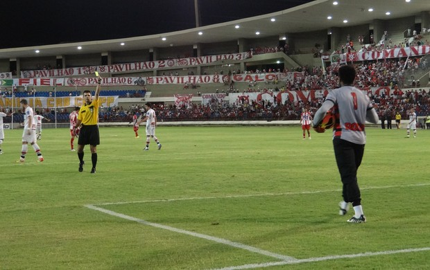 Goleiro Pantera, CRB 1x2 Campinense-PB (Foto: Paulo Victor Malta / Globoesporte.com)
