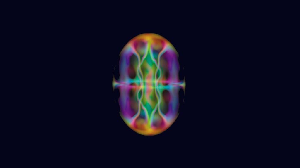 Estrutura em forma de vortex emerge dentro de um condensado de Bose-Einstein em rotação (Foto: Reprodução)