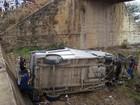 Acidente com micro-ônibus deixa seis feridos e um morto na Bahia