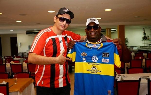 Beto Caju criou River para rivalizar com amigo Behar, dono do Boca (Foto: Arquivo Pessoal)