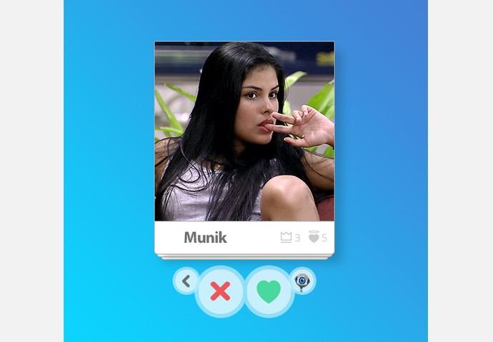 App_Munik (Foto: Big Brother Brasil / Gshow)