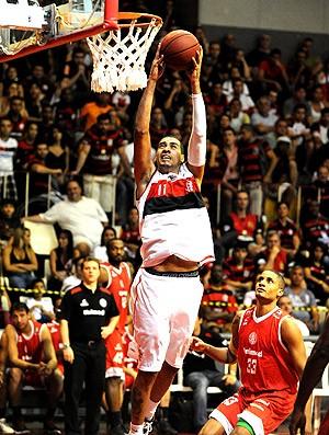 Marquinhos Flamengo Paulistano basquete NBB (Foto: Alexandre Vidal / Fla Imagem)