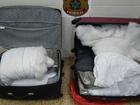 Três passageiros são presos no aeroporto de MS com droga na mala