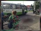 Ciclista é atropelado por ônibus no bairro do Reduto, em Belém