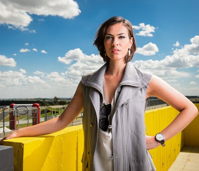 Isabel Wilker dará vida a Adriana, patrocinadora de Apolo, personagem de Malvino Salvador (Foto: Ramón Valsconcelos/Globo)