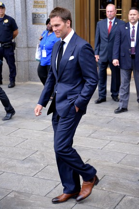 Tom Brady em Nova York, nos Estados Unidos (Foto: Grosby Group/ Agência)