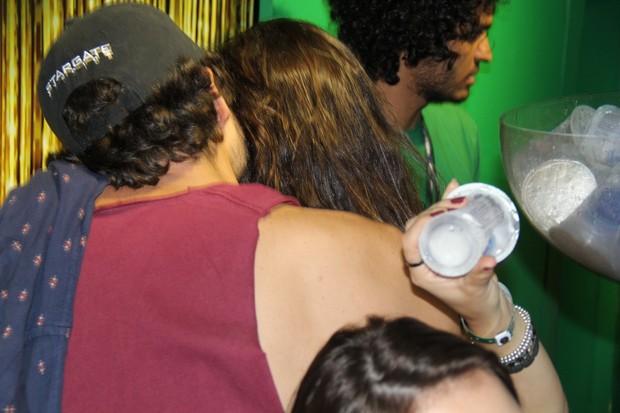Guilherme Winter e Gisele Itié (Foto: Rogério Fidalgo / AgNews)