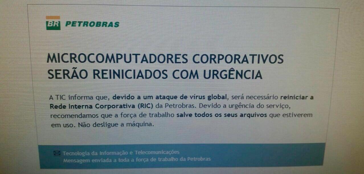 Ataque Petrobras (Foto: Reprodução)
