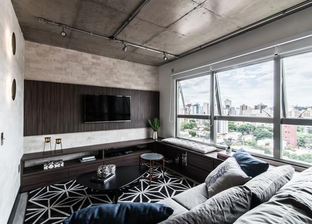 projeto-debora-vassão-apartamento-industrial (Foto: Guilherme Pucci / Divulgação )
