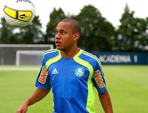 Patrik jogador do Palmeiras (Foto: Anderson Rodrigues / Globoesporte.com)