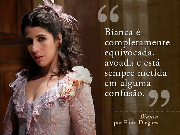 Card Bianca - Flora Diegues (Foto: Fábio Rocha/Gshow)