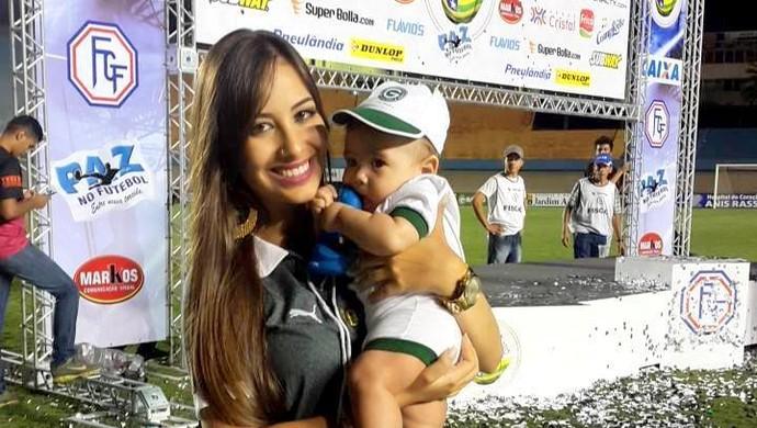 Hélika Rios - Goiás (Foto: Arquivo Pessoal)