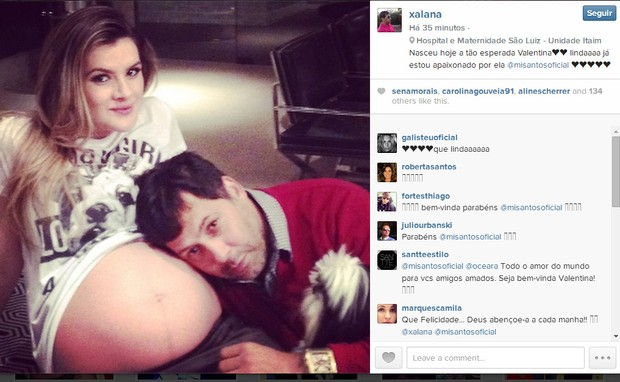 MIrella Santos com amigo (Foto: Reprodução/Instagram)