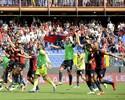 Milan leva gol no início, fica com um a menos e é derrotado pelo Genoa