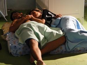Fat_Bruno dormem  (Foto: Malhação / TV Globo)
