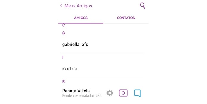 Como descobrir quem te excluiu no Snapchat (Foto: Reprodução/Raquel Freire)
