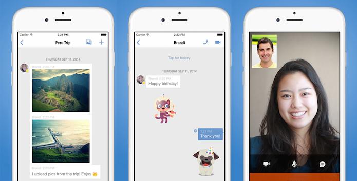 Yahoo, Google Talk, MySpace, Skype, Facebook ou Jabber em um mesmo app (Foto: Divulgação/AppStore)