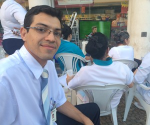 André Luiz Mota da Silva, 27 anos, gerente adjunto