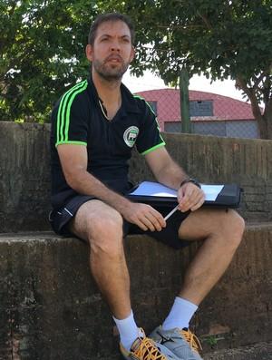 Marcelo Guimarães, técnico do PPFC (Foto: Valmir Custódio / GloboEsporte.com)