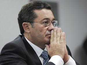 Vital do Rêgo (PMDB-PB) durante votação de projeto em comissão, nesta terça (2) (Foto: José Cruz/Ag.Senado)
