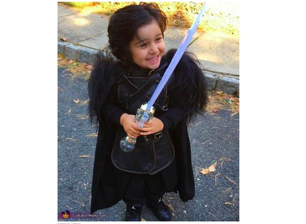 Família se fantasia como personagens de Game of Thrones  (Foto: reprodução)
