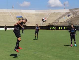 Votuporanguense, treino, estádio Plínio Marin, Série A2 (Foto: Rafael Nascimento / CAV)