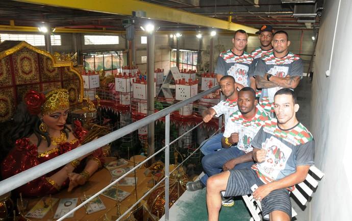 UFC Barracão Grande Rio (Foto: André Durão )