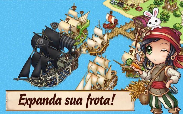 Game de piratas mistura estratégia e gerenciamento de recursos (Foto: Divulgação)