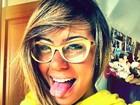 Rafaella, irmã de Neymar, faz careta e mostra piercing do nariz