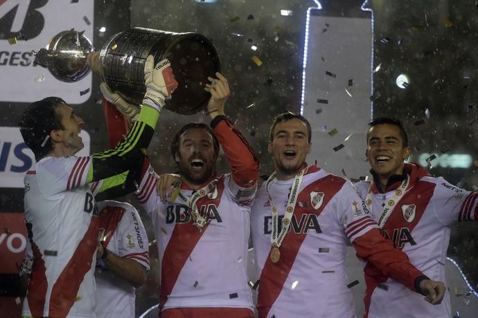 River x Tigres - decisão da Libertadores (Foto: JUAN MABROMATA / AFP)