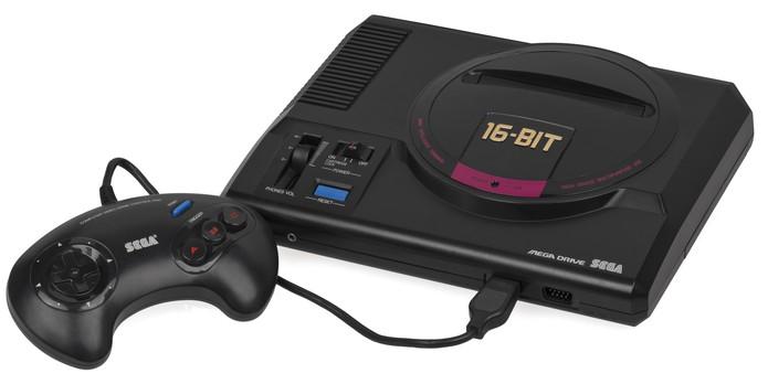 Mega Drive, também conhecido como Sega Genesis, fez sucesso nos anos 1990 (Foto: Divulgação) (Foto: Mega Drive, também conhecido como Sega Genesis, fez sucesso nos anos 1990 (Foto: Divulgação))