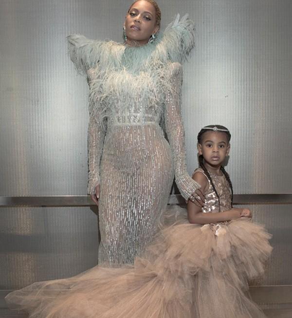 Beyoncé e Blue Ivy (Foto: Reprodução / Instagram)