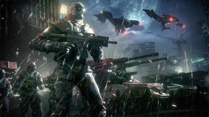 As ruas de Gotham estão mais violentas do que em Arkham City (Foto: Divulgação)