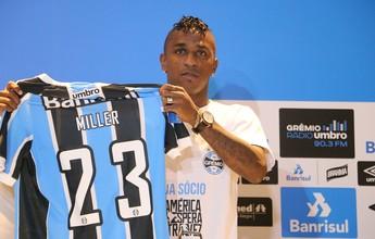 Fã de Jordan, Bolaños escolhe camisa 23 e vê seu maior desafio no Grêmio