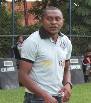 Vanin, técnico do Cori-Sabbá (Foto: Abdias Bideh/GloboEsporte.com)