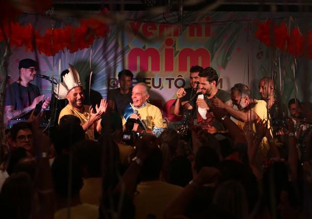 Show da Banda EVA (Foto: Luciana Serra/Divulgação)