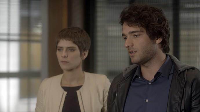 Tiago não perdoa e manda Ciro ir embora (Foto: TV Globo)