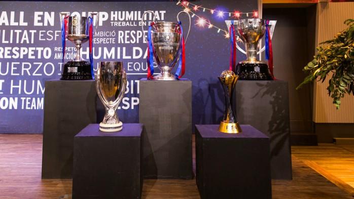 Barcelona troféus 2015