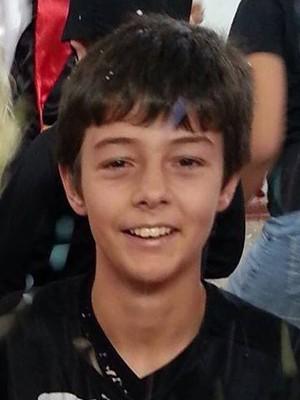 Corpo de menino desaparecido em Três Passos, RS, será enterrado em Santa Maria, RS (Foto: Reprodução/RBS TV)