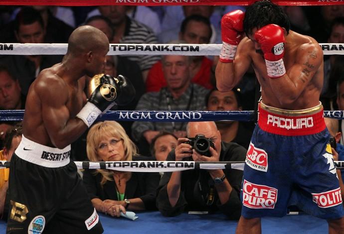 cj ross juiza Manny Pacquiao x Timothy Bradley boxe (Foto: Getty Images)