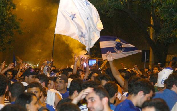 Festa Torcida Cruzeiro (Foto: Andre Brant / Agência estado)
