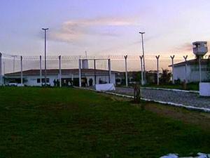 Cadeia Pública de Nova Cruz, na região Agreste do RN (Foto: Ademílson Amorim/G1)
