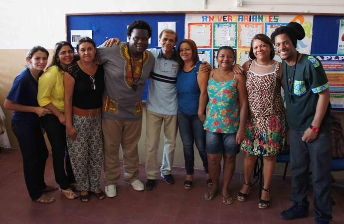 Dois Africanos (Foto: Alysson Bernardo/TV Cabo Branco)