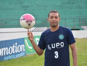 Wellington Monteiro, volante do Guarani (Foto: Murilo Borges / Globoesporte.com)
